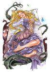 2014 breasts cleavage disney elias_chatzoudis_(artist) fauna_(sleeping_beauty) flora_(sleeping_beauty) merryweather_(sleeping_beauty) princess_aurora sleeping sleeping_beauty tagme