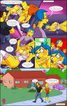 arabatos comic darren's_adventure luann_van_houten salem89_(artist) the_simpsons yellow_skin