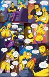 arabatos comic darren's_adventure lingerie luann_van_houten salem89_(artist) the_simpsons yellow_skin