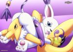 2girls digihentai digimon furry gatomon multiple_girls palcomix renamon tagme yuri