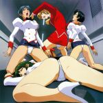 agent_aika anime ass ecchi high_heels outfit panties