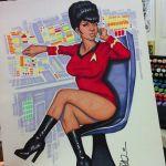 art dark_skin drawing legs_crossed nyota_uhura red star_trek