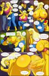 :>= anus arabatos aroused bartender bent_over big_breasts blonde breasts comic cum_in_ass cum_in_pussy darren's_adventure dialogue doggy_position erect_penis fellatio hair hand_on_crotch massive_breasts mind_control nipples oral orgasm presenting pussy salem89_(artist) the_simpsons titania_(the_simpsons) yellow_skin