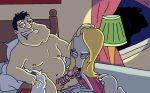 alien american_dad beer cosplay disguise drunk fellatio gay interspecies roger stan_smith wig
