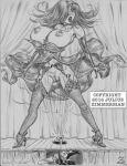 2016 crossover daffy_duck disney jessica_rabbit julius_zimmerman_(artist) looney_tunes monochrome tagme who_framed_roger_rabbit