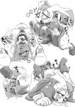 1girl anal anthro anus blush breasts cervix clothing cum cum_in_ass cum_in_pussy cum_inside furry gloves human interspecies japanese_text lagomorph male mammal mature_female milf monochrome nezumi nezunezu penis pussy rabbit sega sonic_the_hedgehog sweat tears text translation_request uncensored vaginal vanilla_the_rabbit