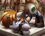 1girl cutiemark follout_equestria green_eyes littlepip magic_supresion rape sex shinodage tagme unicorn