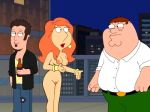 breasts family_guy lois_griffin nude peter_griffin pubic_hair pussy