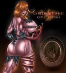 ass big_ass big_breasts blood breasts devilmaycrydant devilmaycrydant_(artist) rachael_foley resident_evil resident_evil_revelations