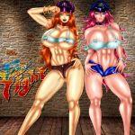 big_breasts breasts devilmaycrydant devilmaycrydant_(artist) final_fight poison roxy street_fighter