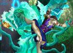 anal furry tauren tentacle tentacle_rape world_of_warcraft yaoi