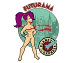 bear-bm_(artist) futurama nipples pubic_hair tagme turanga_leela white_background