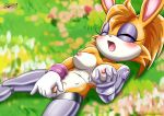 1girl breasts bunnie_rabbot furry mobius_unleashed tagme