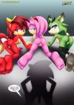 3_girls amy_rose fiona_fox furry mess_3 mobius_unleashed tagme