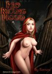 breasts comic dofantasy ferres_(artist) little_red_riding_hood navel nipples red_riding_hood