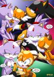 2_girls blaze_the_cat furry marine_the_raccoon mobius_unleashed shadow_the_hedgehog surrender_the_booty tagme