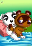 2boys animal_crossing bbmbbf furry k.k._slider palcomix rear_deliveries sex tagme tom_nook_(animal_crossing)