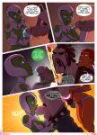 artist_request aya comic dc_comics green_lantern justice_league starfire teen_titans