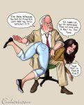 bondage endart otk over_the_knee spank spanked spanking