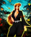 big_breasts bleach breasts clevage jassycoco jassycoco_(artist) orihime_inoue