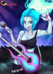 big_breasts breasts danny_phantom ember_mclain guitar rainbowscreen