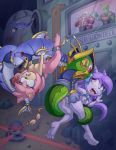2_girls amy_rose anal_penetration animal_ears big_breasts bikini breasts cum freedom_planet from_behind furry green_eyes hot long_hair nipples penis pink_eyes pink_hair purple_hair pussy sash_lilac semen sex sexy short_hair sonic the_other_half