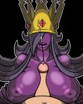 anthro big_breasts big_lips black_background breasts canastus claws cum cum_on_face duo eyeless female ghost gold human jewelry male milf mind_control mother nipples nude paper_mario parent penis plain_background princess_rosalina purple_skin sex shadow_queen solo_focus spirit straight super_mario_bros. super_mario_galaxy