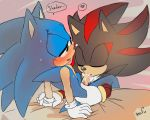 ... anthro black_fur blue_fur blush dialogue digital_media_(artwork) duo english_text fellatio fur furry gif green_eyes half-closed_eyes heart hedgehog krazyelf loop male male/male mammal multicolored_fur nude oral oral_penetration penetration penis red_eyes red_fur sega sex shadow_the_hedgehog sonic_the_hedgehog sucking tan_fur text two_tone_fur video_games