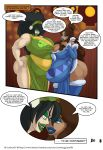 aang ass avatar:_the_last_airbender big_ass big_breasts breasts cleavage katara lurkergg lurkergg_(artist) melon_lord_(comic) pregnant toph_bei_fong