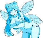 ale-mangekyo ale-mangekyo_(artist) big_breasts breasts censored navi nipples nude ocarina_of_time the_legend_of_zelda