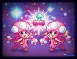 clones double_cherry retroowl smile super_mario_bros. toadette
