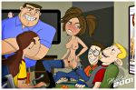 bonnie_rockwaller boots breasts kim_possible nude pubic_hair pussy stockings