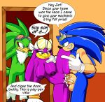1girl anthro avian big_breasts bird breasts cum cum_in_pussy cum_inside dreamcastzx1 furry hawk hedgehog huge_breasts huge_penis jet_the_hawk male male/female mammal penis sega sonic_riders sonic_the_hedgehog swallowing viktor2 wave_the_swallow