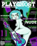 ass darkdp_(artist) ember_mclain magazine_cover nude