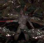 animated bouncing_breasts breasts deborah_harper gif monster_girl nude resident_evil_6