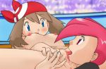 breasts flannery licking may nude pokemon pussy pussy redhead yuri