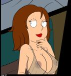 big_breasts breasts crocsxtoons_(artist) family_guy meg_griffin negligee nipples no_glasses see_through smile