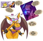 anthro bat_girl big_breasts bigdad breasts cleavage femsub furry hair happy_trance maledom manip miles_tails_prower penis rouge_the_bat sleeping sonic_the_hedgehog_(series) subliminal tech_control text tiechonortheal_(manipper) white_hair wings