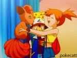 ash_ketchum gif misty pokecatt pokemon topless vulpix