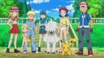 ash_ketchum bonnie breasts citron_(pokemon) clemont eureka_(pokemon) furfrou nude panties pikachu pokecatt pokemon pokemon_xy satoshi_(pokemon) serena serena_(pokemon) topless