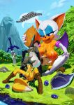 """1girl anthro armpits bat big_breasts breasts bukkake canine clothed clothed_sex clothing condom cum cum_in_pussy cum_inside filled_condom fox furry group group_sex huge_breasts imp male male/female mammal melee_weapon messy midna miles_""""tails""""_prower nintendo nipples outside penetration rouge_the_bat sega sex shield sword text the_legend_of_zelda theboogie threesome twilight_princess vaginal vaginal_penetration video_games weapon"""