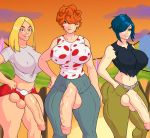 big_breasts big_penis big_testicles breasts ed,_edd,_'n'_eddy futanari hentai-foundry jay-marvel kanker_sisters lee_kanker marie_kanker may_kanker penis testicles