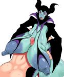 big_breasts big_penis breasts disney maleficent nipples nude paizuri penis sleeping_beauty witch yoh-sl
