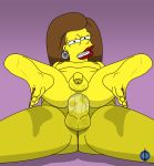 anal bart_simpson brunette cum infiniteblue lipstick the_simpsons