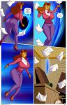 arabatos bear_girl breasts brown_eyes brown_hair disney empty_eyes femsub furry hair high_heels huge_ass huge_breasts hypnotic_accessory long_hair milf rebecca_cunningham talespin text