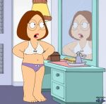 bra chris_griffin family_guy funny gif guido_l meg_griffin panties