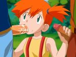 ash_ketchum brock fellatio gif interracial kasumi_(pokemon) looking_up misty oral pokemon pokemon_(anime) satoshi_(pokemon) takeshi_(pokemon) threesome