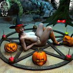 3d big_breasts breasts nipples nude scooby-doo shoes velma_dinkley