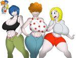 big_breasts breasts cleavage ed,_edd,_'n'_eddy kanker_sisters lee_kanker marie_kanker may_kanker tomkat96 tomkat96_(artist)