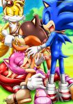 amy_rose knuckles_the_echidna mobius_unleashed sex sonic_boom sonic_the_hedgehog sticks_the_jungle_badger tagme tails video_games